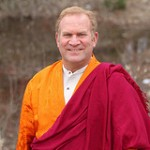 Lama Surya Das in Buddhist Attire
